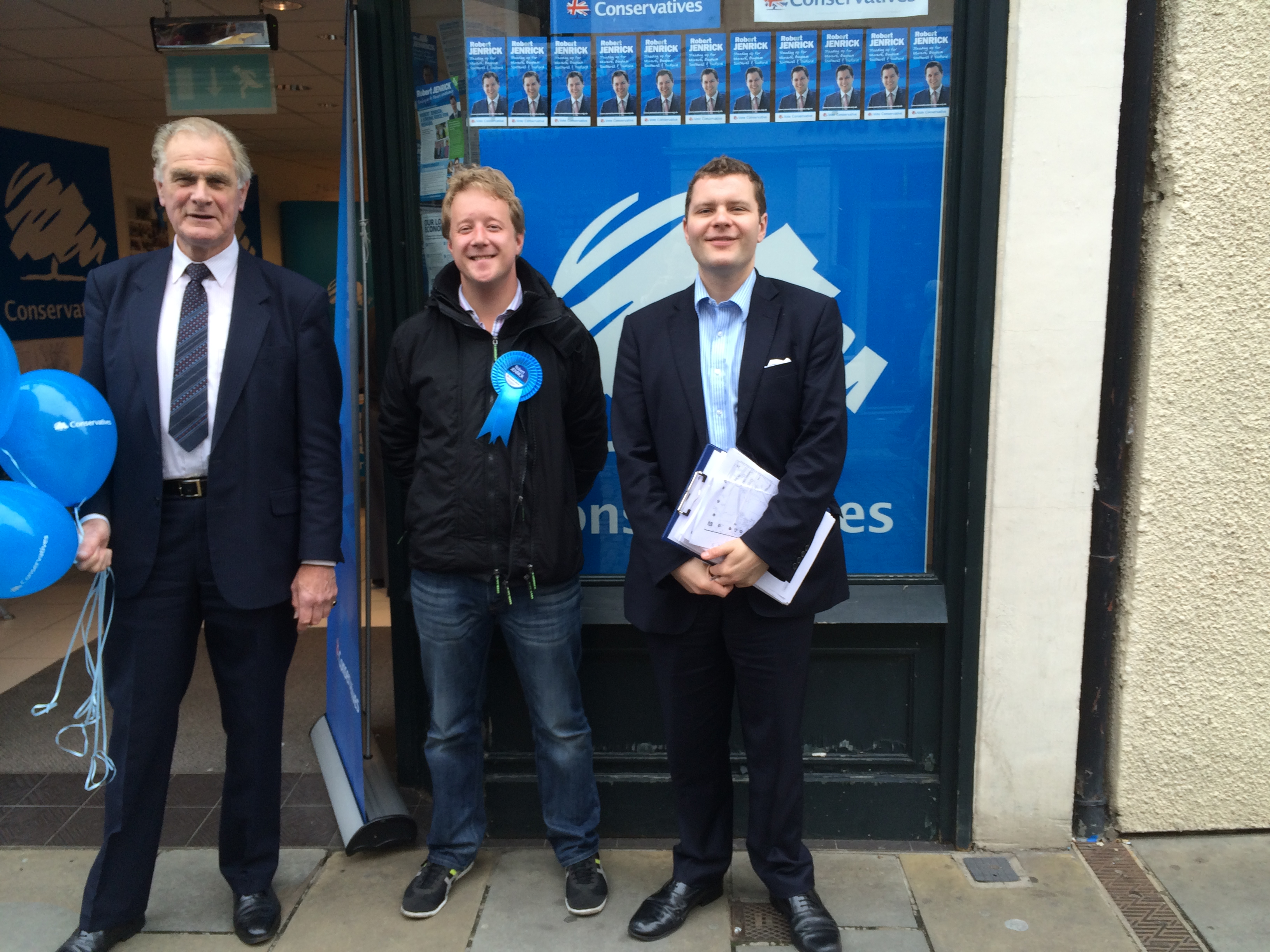 Campaigning in the Newark By Election - June 2014