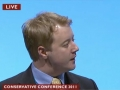 Addressing Conservative Party Conference 2011