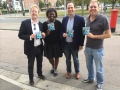 Campaigning in the Clacton By Election - October 2014