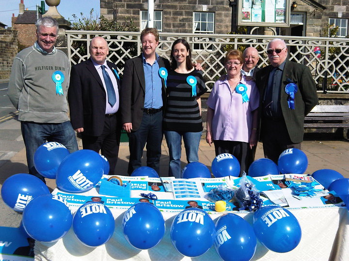 Campaign Stall in Guisborough 2010