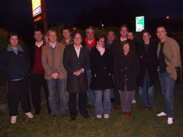 Campaigning in Nunthorpe 2009