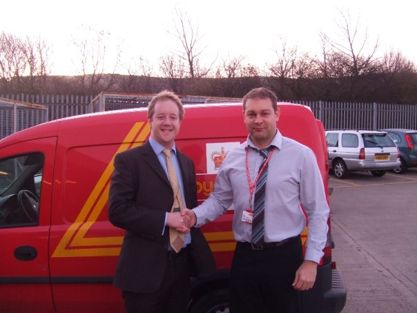 Visiting the Royal Mail Depot in Skelton 2008