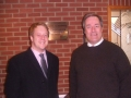 At East Cleveland Hospital, Brotton with Lord Bates - 2008