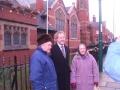 Meeting residents in Saltburn - 2008