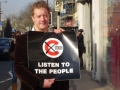Campaigning against the extension of the Congestion Charge - 2007