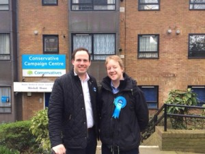 Campaigning in Brenford and Isleworth